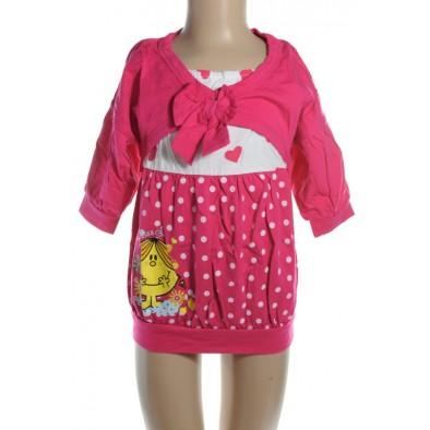 Šaty detské - s mašľou, 15-8504