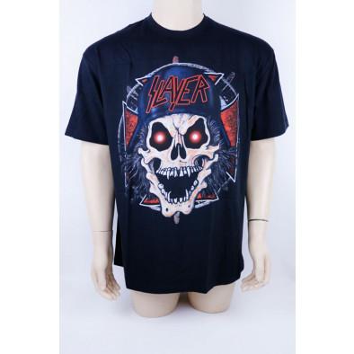 Tričko metalové Slayer - Lebka