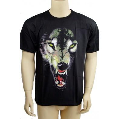 Tričko zúrivý vlk