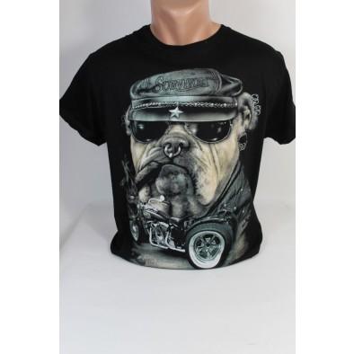Pánske tričko survivors buldog