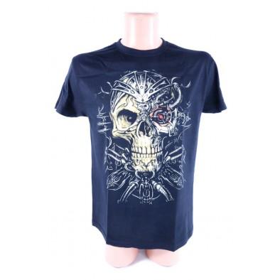 Pánske tričko Lebka