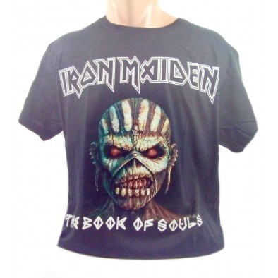 Tricko iron maiden the book, C-2-15039