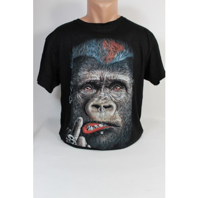 Pánske tričko s gorilou