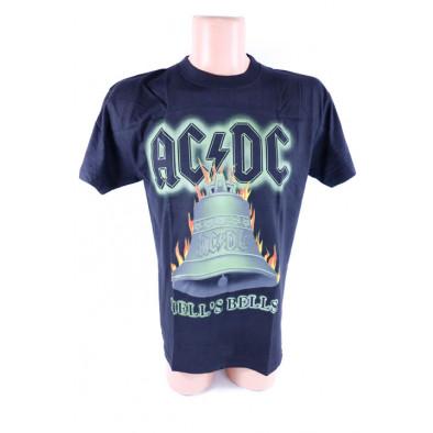 Pánske tričko ACDC - Hell's Bells, zelený zvon