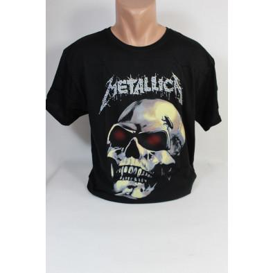 Pánske tričko lebka Metallica