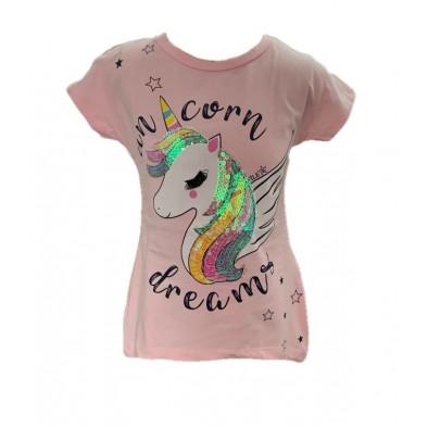 Dievčenské tričko jednorožec-unicorn dream