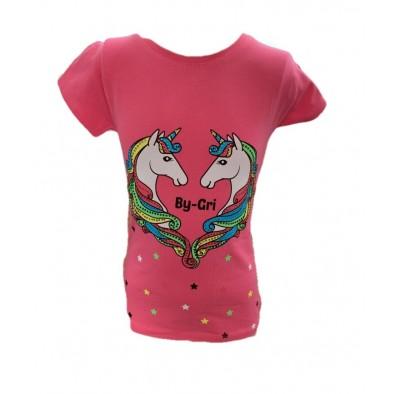 Dievčenské tričko dvaja jednorožci