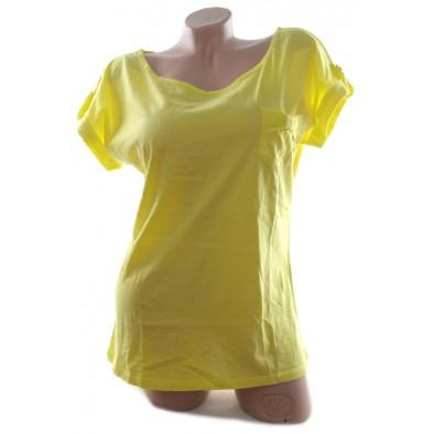 Dámske tričko - jednoduché voľné