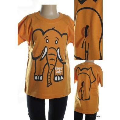Detské tričko - slon kratky rukav
