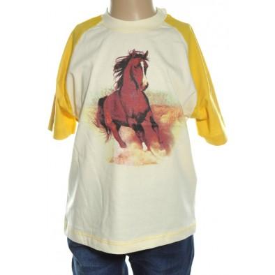 Detské tričko - koník kratky rukav