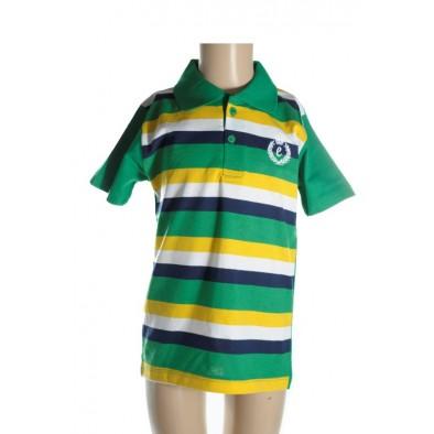 Detské tričko - 2 gombíky kratky rukav