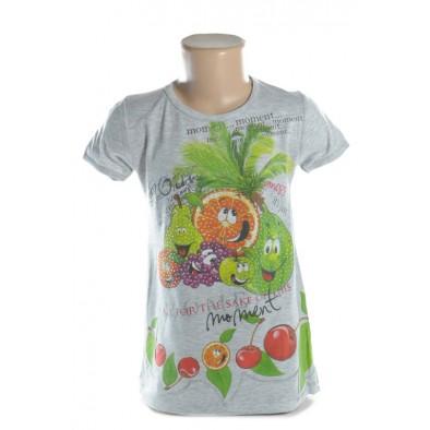 Detské tričko - ovocníčkovia kamienky crystal deluxe kratky rukav