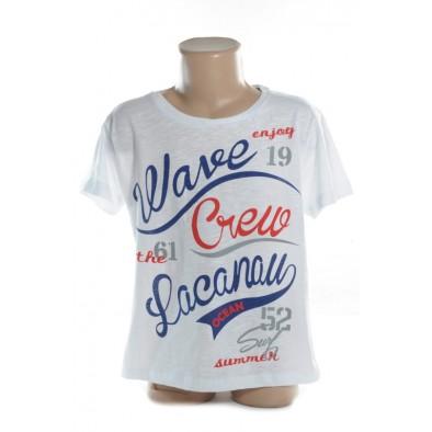 Detské tričko - WAVE CREW kratky rukav