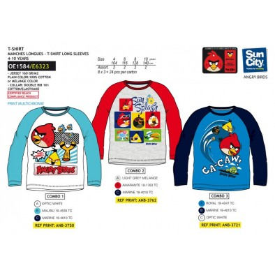 Tričko Angry Birds, 2-OE1584