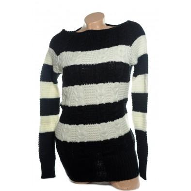 Dámsky sveter - pruhy