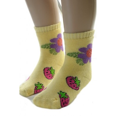 Ponožky dievčenské  s obrázkom