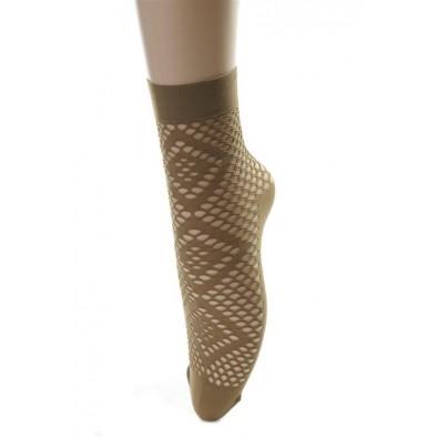 Ponožky dámske - dierkované