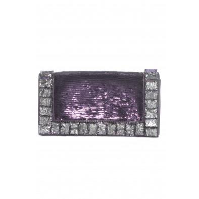 Spoločenská kabelka s ozdobnými kameňmi