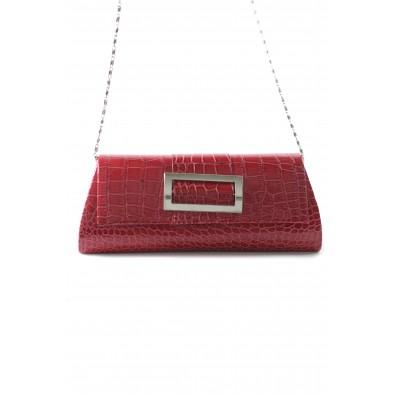 Spoločenská kabelka s obdlžníkovým zdobením