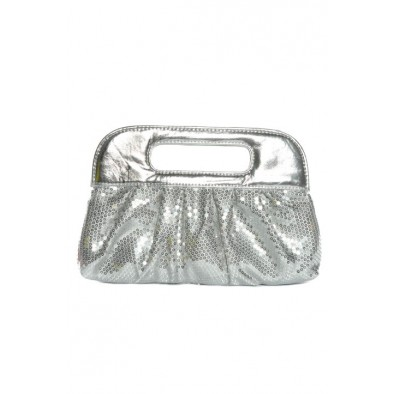 Spoločenská kabelka s flitrami s rúčkou