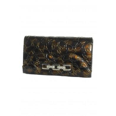 Spoločenská kabelka - hadí vzor