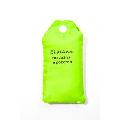 Nákupná taška s menom BIBIANA - rozvážna a pozorná, C-24-7710