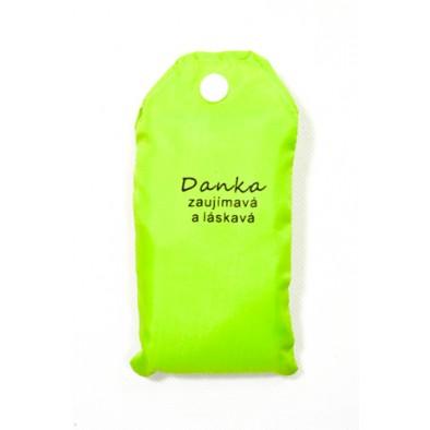 Nákupná taška s menom DANKA - zaujímavá a láskavá, C-24-7712