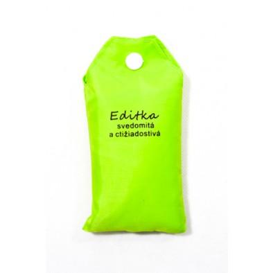 Nákupná taška s menom EDITKA - svedomitá a ctižiadostivá, C-24-7719