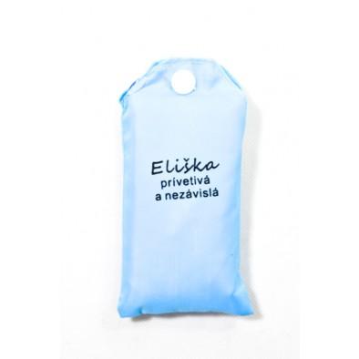 Nákupná taška s menom Eliška - prívetivá a nezávislá 15ltr