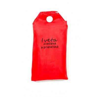 Nákupná taška s menom Iveta - zvedavá a priateľská 15ltr, C-24-7731