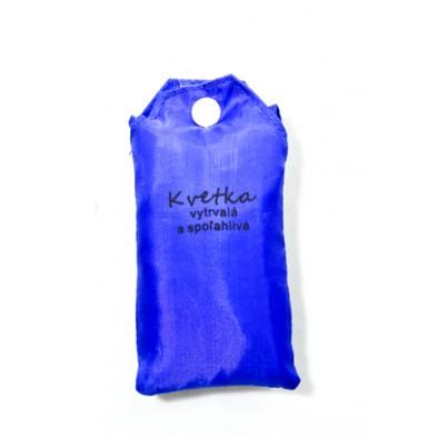 Nákupná taška s menom KVETKA - vytrvalá a spoľahlivá