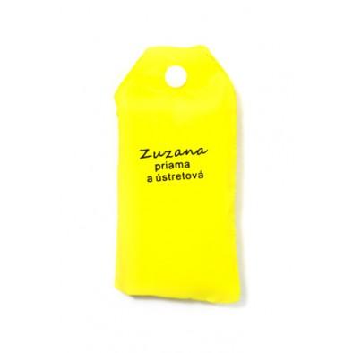Nákupná taška s menom Zuzana - priama a ústretová 15ltr