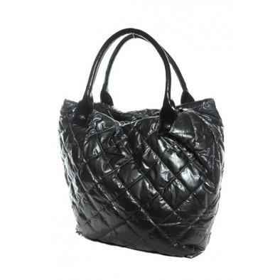 Lesklá taška - kaki