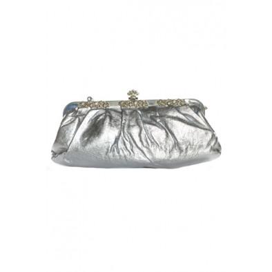 Spoločenská kabelka - metalická