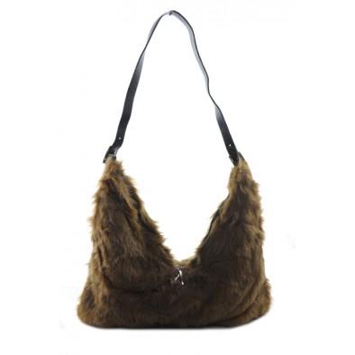 Kožušinová kabelka