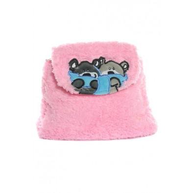 Detský ruksak - mackovia so šálom