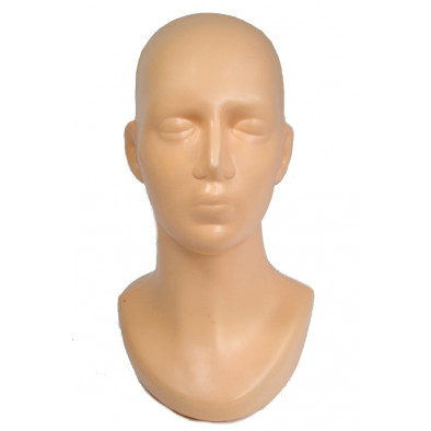 Dámska hlava s krkom