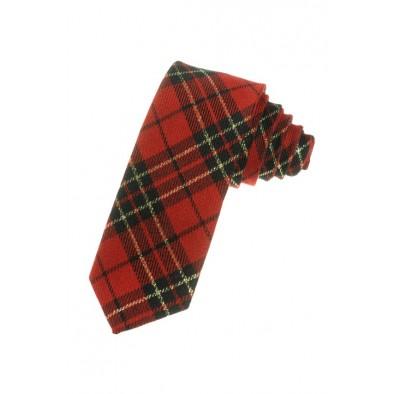 Štýlová kravata - káro