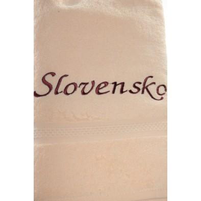 Uterák Slovensko - Svetlo oranžový svk slovakia
