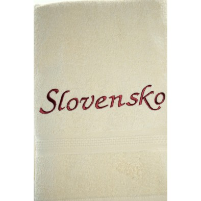 Osuška Slovensko - svetlo hnedá svk slovakia