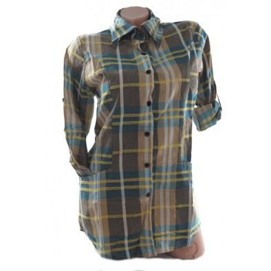 Dámska košeľa károvaná
