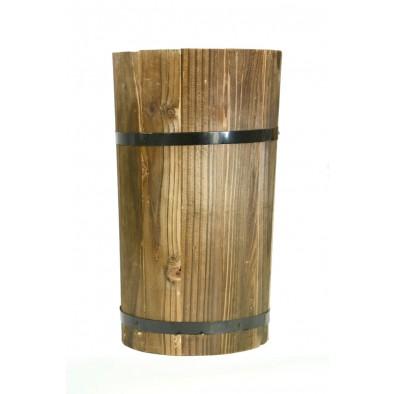 Váza drevená 29cm, C-4-00318