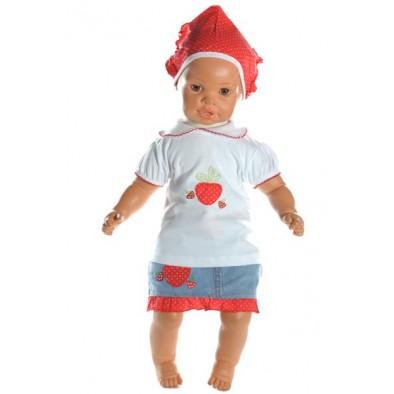 Detský komplet - suknička jahôdka