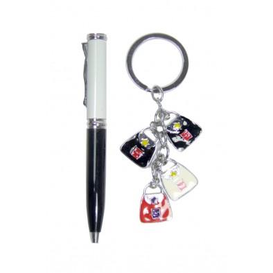 Darčeková sada pero s príveskom na klúče