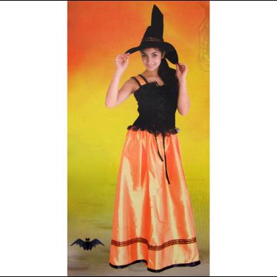 Dámsky kostým - čarodejnica, 4-V9697