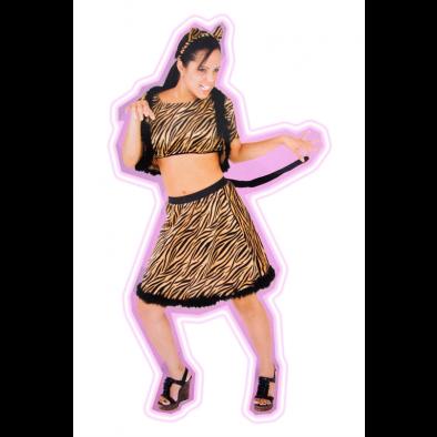 Dámsky kostým - tigrica
