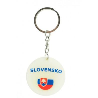 Kľúčenka Slovensko 4,5 cm