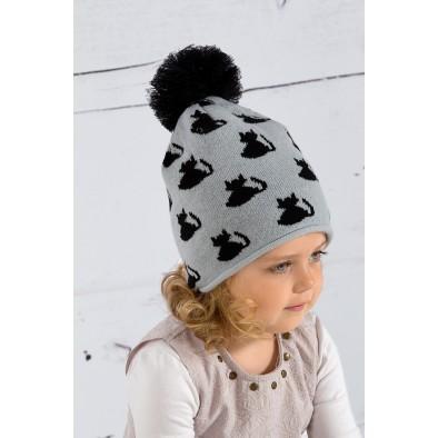 Detská čiapka mačka
