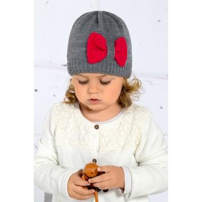 "Detská čiapka - mašľa  ""Szansa"""