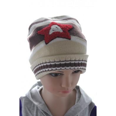 Chlapčenská čiapka s hviezdou